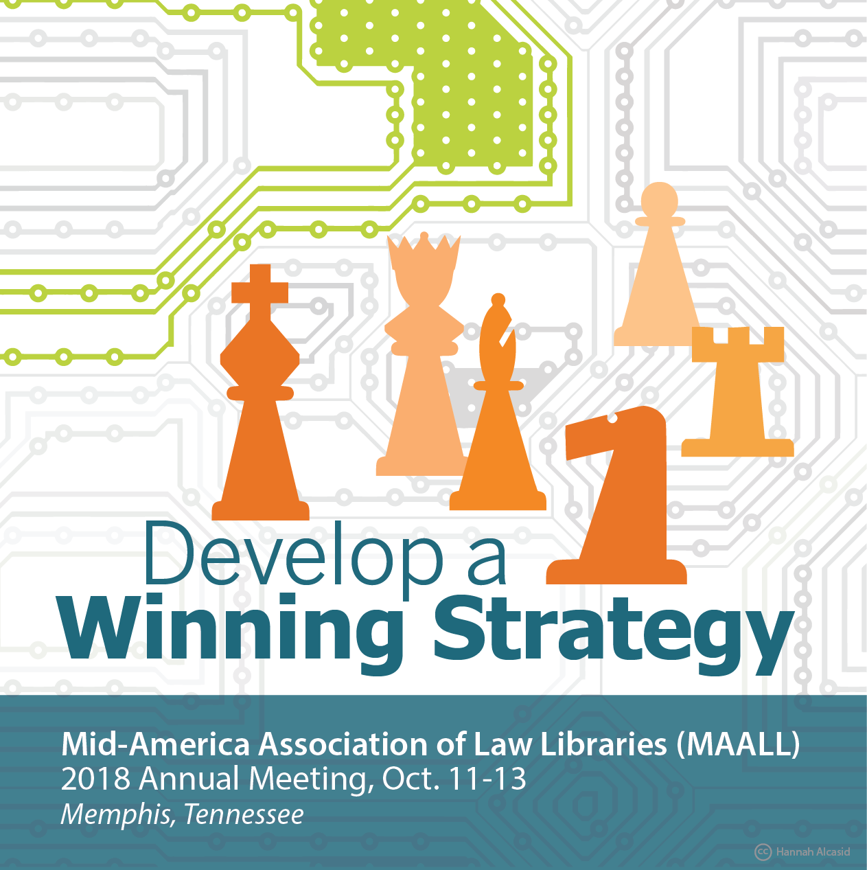 Develop a Winning Strategy 2018 MAALL Meeting logo
